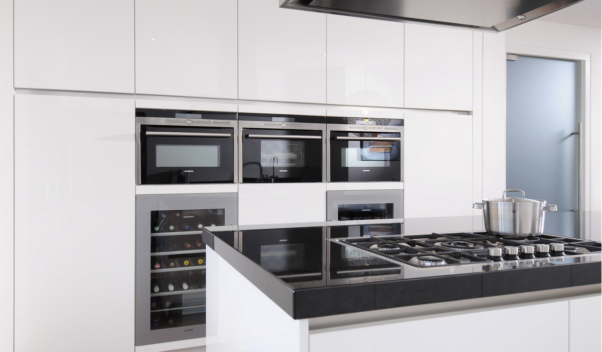 Ontwerp inbouw keukenkast for Bosch apparatuur