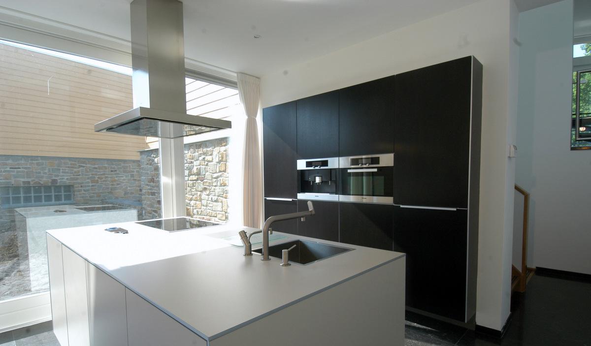 Cottage keuken met eiland op maat en granieten werkblad beste inspiratie voor huis ontwerp - Keuken met granieten werkblad ...