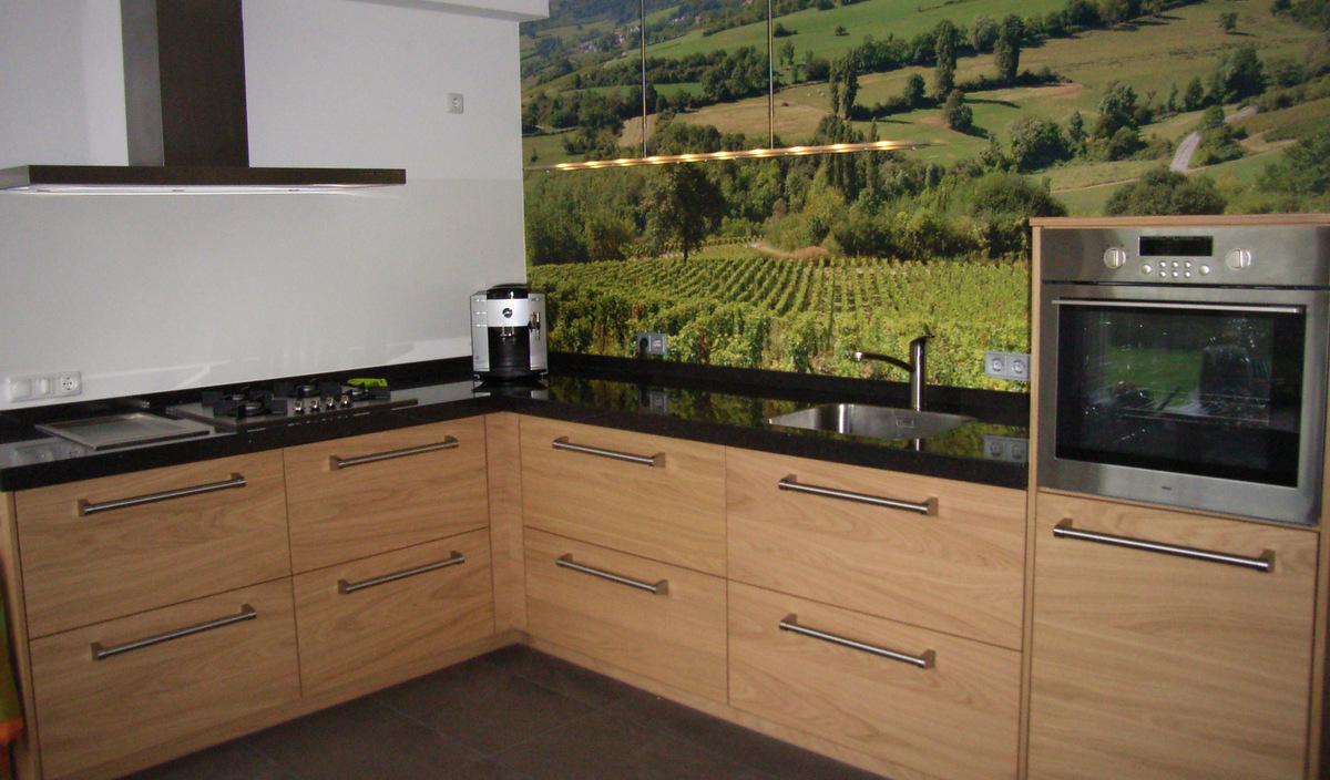 Keuken Achterwand Gamma : Achterwand Keuken Kunststof Gamma : DIY gekleurde glazen achterwand