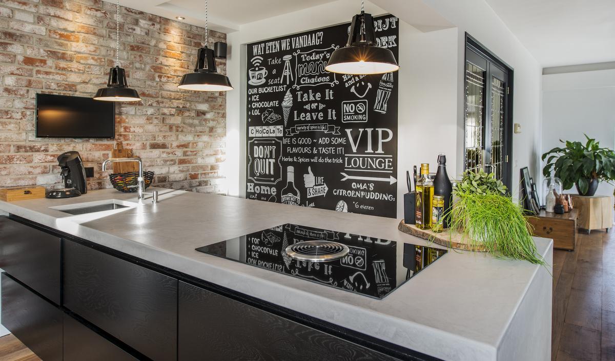 Moderne Blauw Keuken : Showroom aanbieding klassiek blauwe keuken elzas de lange keukens