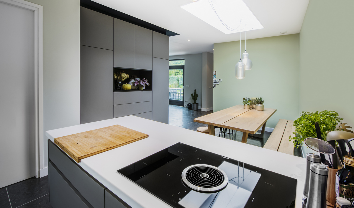 Grijze Moderne Keuken : Moderne keukens van diessen keukens veldhoven